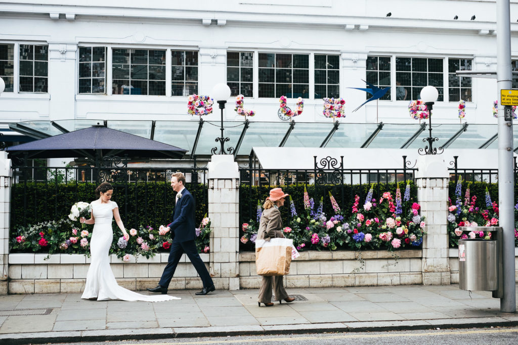 BLUEBIRD CHELSEA LONDON WEDDING RECEPTION