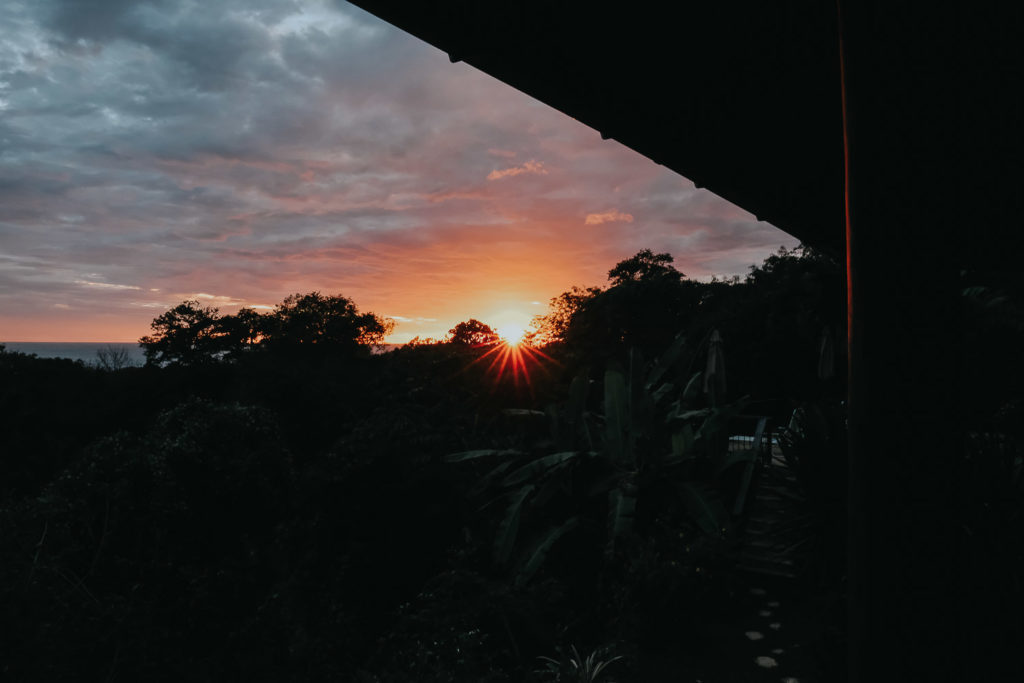 sunset in nosara costa rica wedding photographer travels