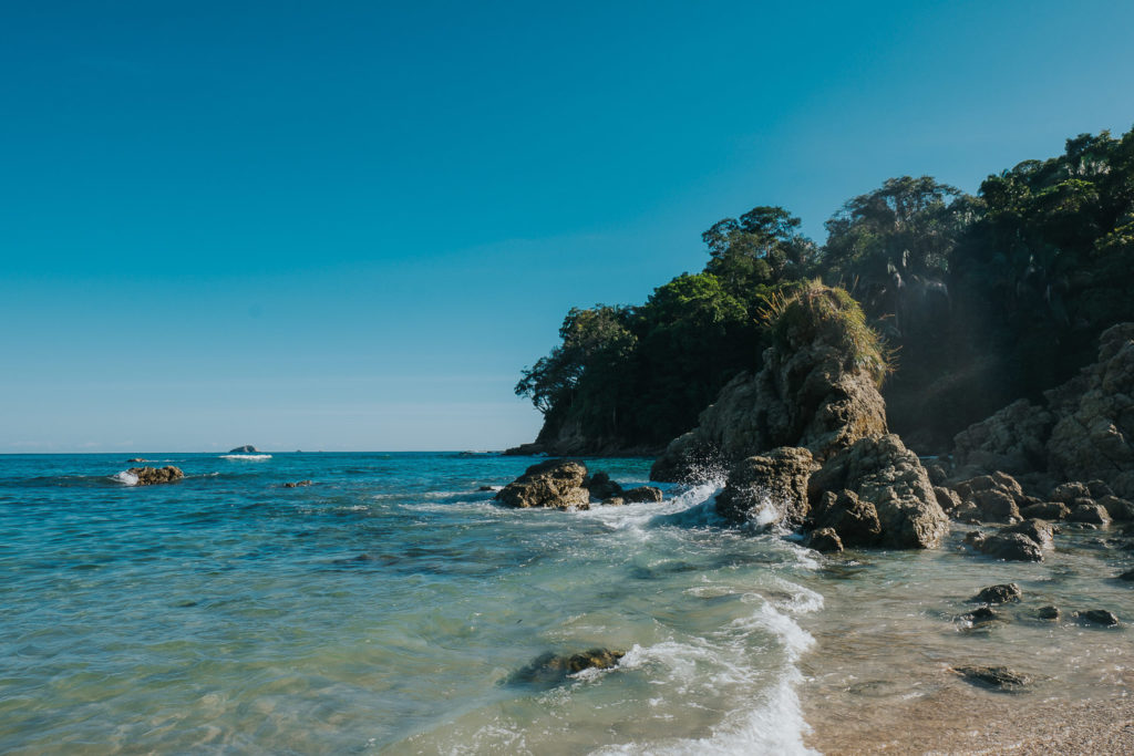 playa manuel antonio at parque nacional manuel antonio costa rica wedding photographer