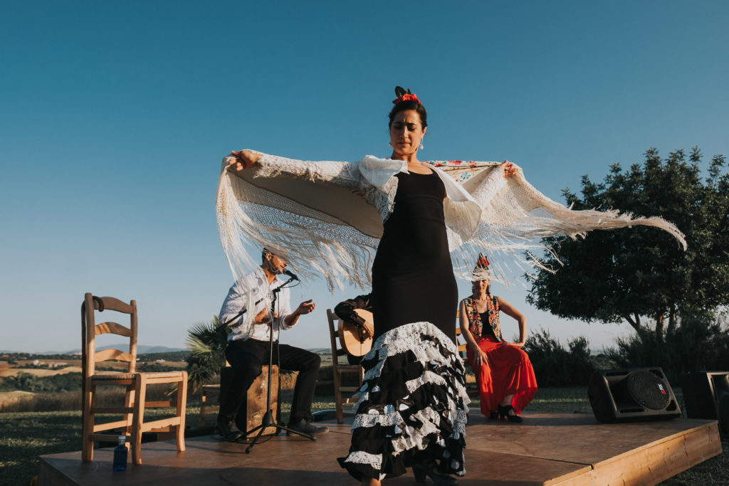 flamenco dancer outdoors jerez wedding photographer